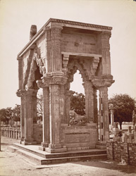 Gate of Teki Mandir, Gwalior Fort